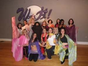 Bellydance Class at Work It Dance and Fitness