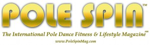 Pole Spin Magazine Banner on Work It Dance and Fitness Website