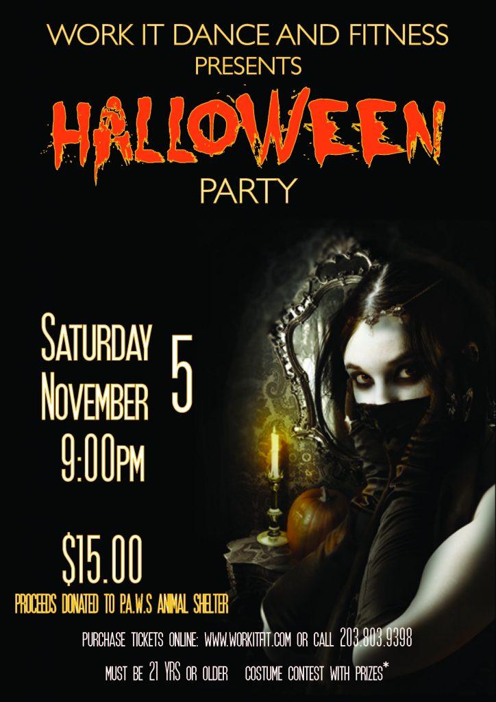 Work It Halloween Party