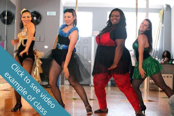 picture of burlesque dancers