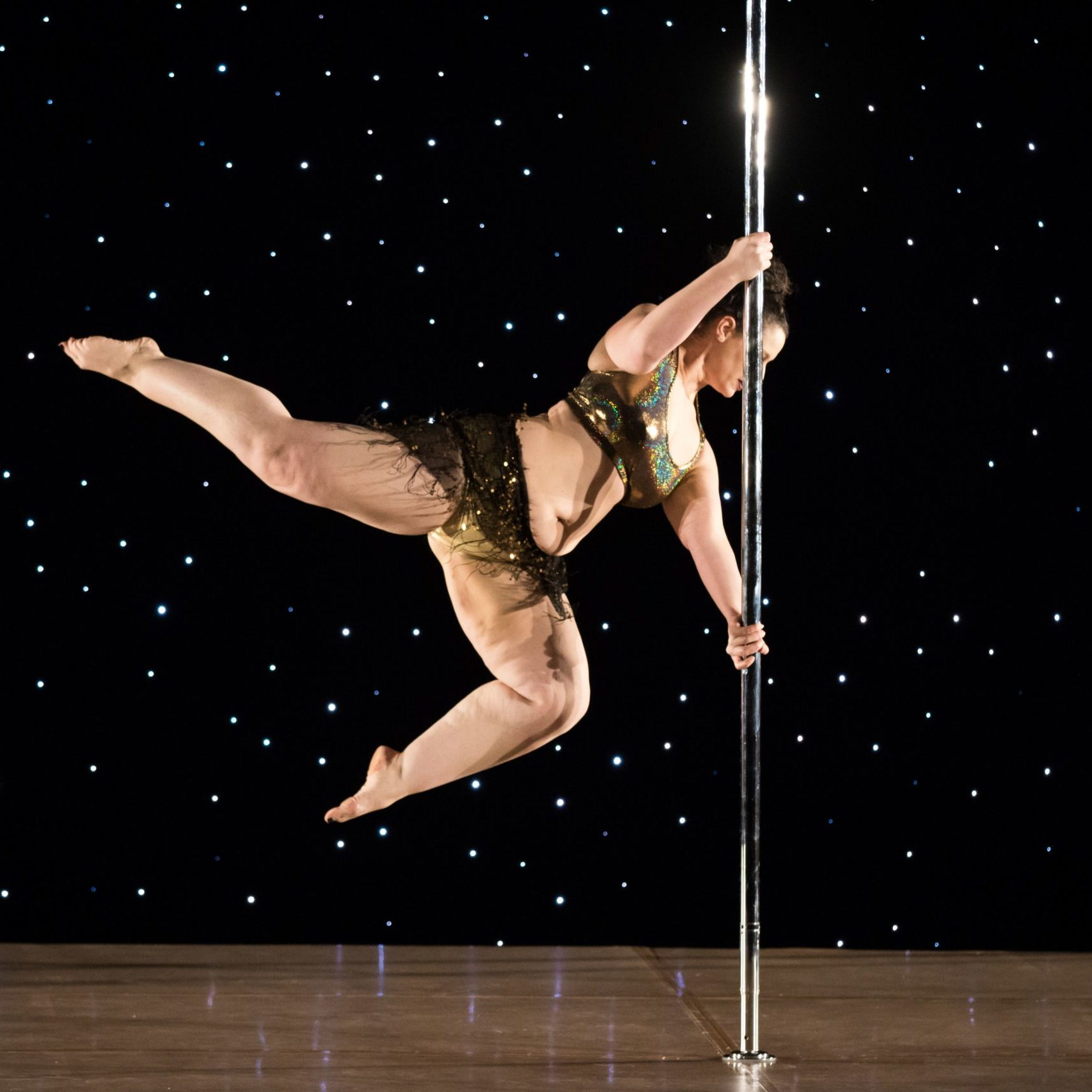 Pole Fitness Competition