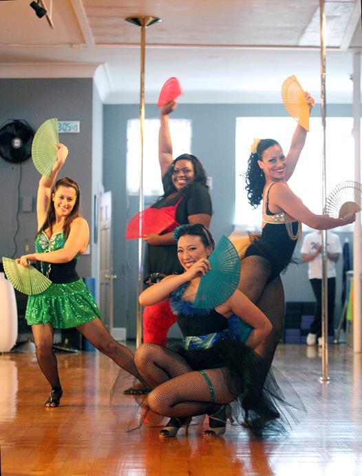 Burlesque dance classes in CT