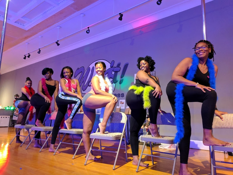 Work It Dance and Fitness chair dancing classes