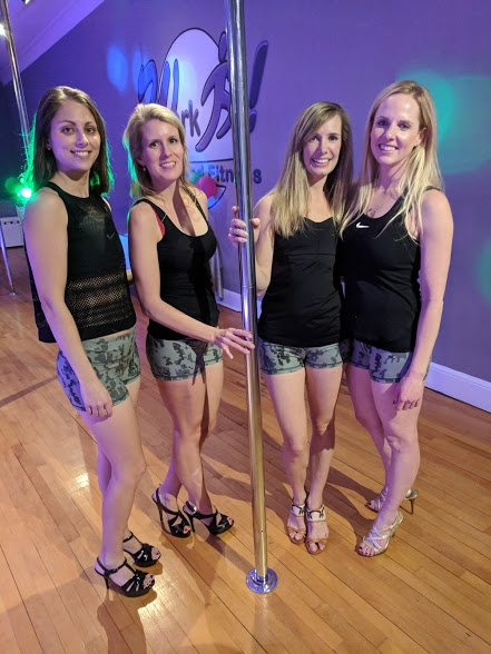 private pole dancing party norwalk stamford milford ct
